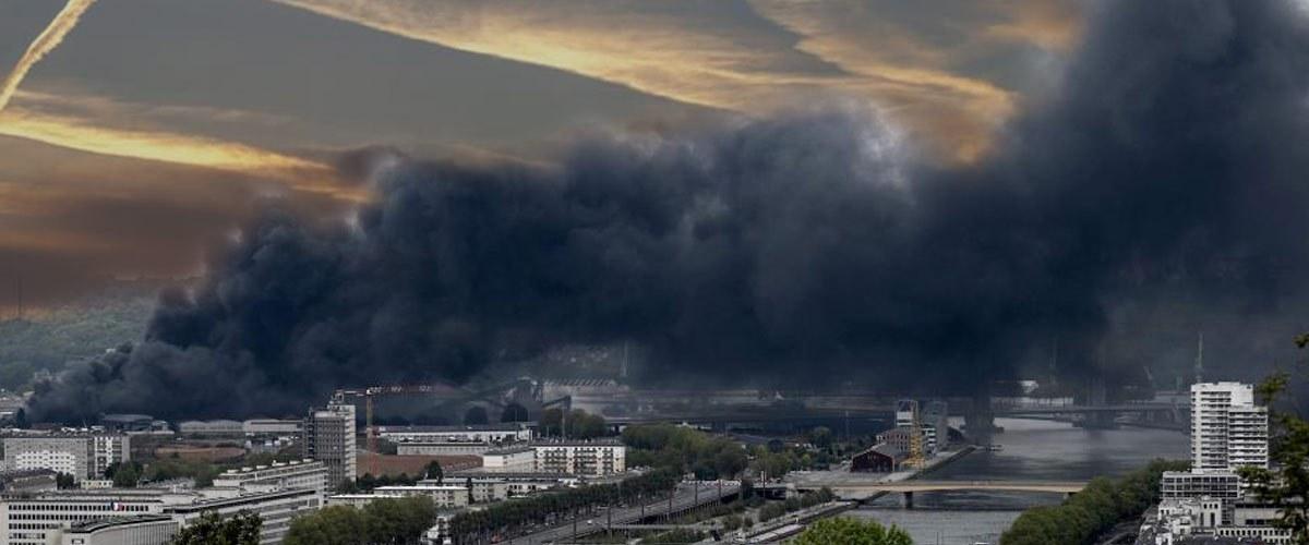 Incendie à Rouen : l'usine Lubrizol-Seveso fabriquait des chemtrails