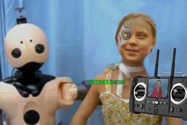Greta Thunberg est un robot chinois télécommandé par une secte islamogauchiste