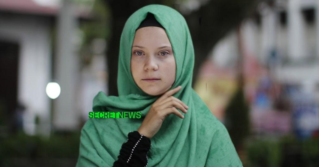 Greta Thunberg porte le voile pour récupérer l'attention des médias