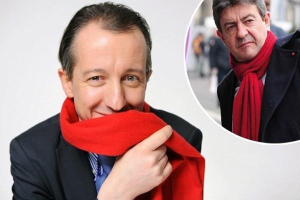 """""""Je l'ai volée à Mélenchon"""" : Christophe Barbier dévoile tout sur son écharpe rouge"""