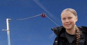 Greta Thunberg catapultée au dessus de l'Atlantique pour rentrer en Europe