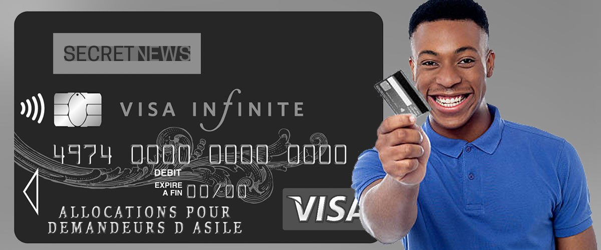 Une carte Visa Infinite pour les demandeurs d'asile