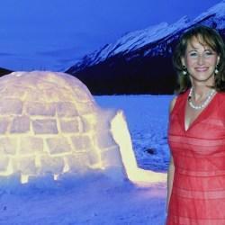 Ségolène Royal va vivre dans un igloo en Arctique pour justifier sa fonction d'ambassadrice des pôles