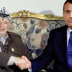 Emmanuel Macron rencontrera Yasser Arafat le 30 février prochain