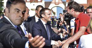 Carlos Ghosn engagé par l'Elysée pour organiser les exfiltrations de Macron