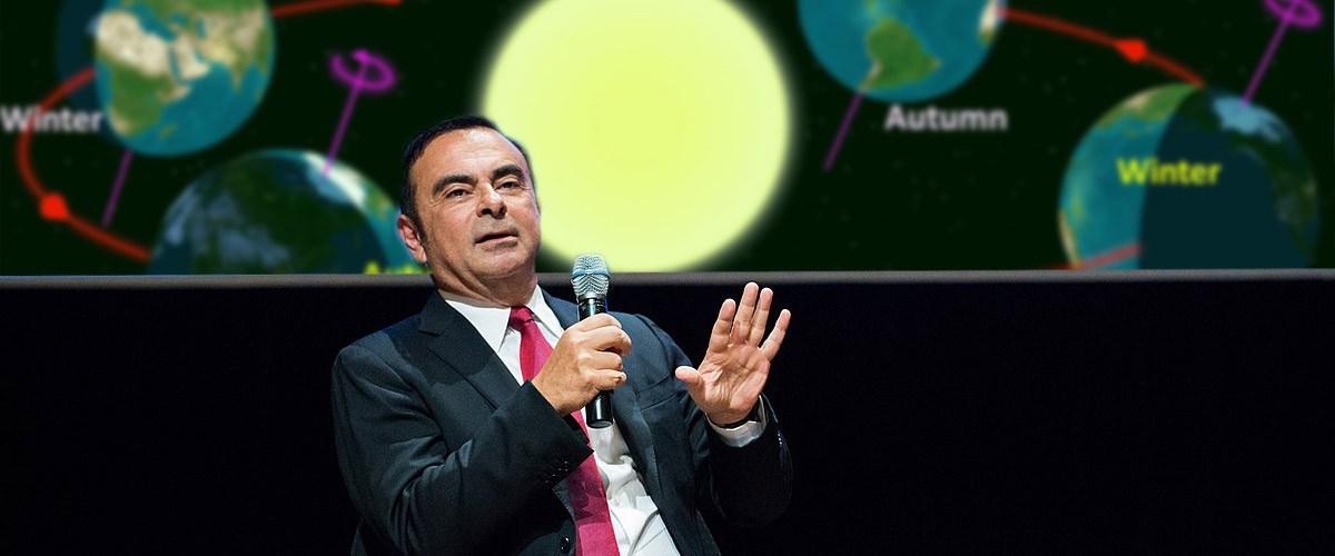 """Carlos Ghosn : """"Je n'ai pas fui, c'est la terre qui a tourné"""""""