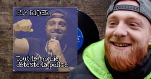 """""""Tout le monde déteste la police"""" : Fly Rider sort un premier album"""