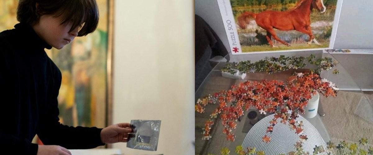 Le jeune surdoué belge de 10 ans a réussi un puzzle de 500 pièces en 5 min !