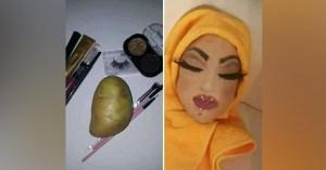 Il trompe un système de reconnaissance faciale en maquillant une patate