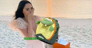"""""""Lui non plus je ne l'ai pas tué"""" – Nabilla reçoit un nouveau sac """"crocodile"""""""