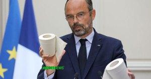 """Coronavirus : """"max 5 feuilles de PQ par personne par jour"""" annonce Edouard Philippe"""