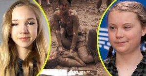 Greta Thunberg va affronter Naomi Seibt dans un match de catch dans la boue
