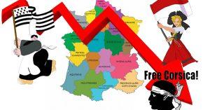 Covid-19 : pour baisser la mortalité, Macron accorde l'indépendance à la Corse, la Bretagne et l'Alsace
