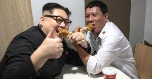 Kim Jong Un aperçu avec Duterte dans un fast-food à Glasgow, selon la police écossaise