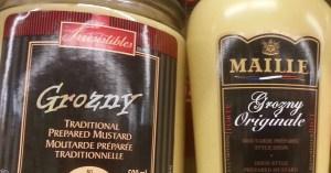 """La moutarde de Dijon change de nom et devient la """"moutarde de Grozny"""""""