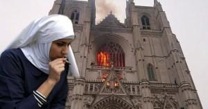 """""""J'ai voulu allumer mon joint avec le cierge Pascal"""" : une nonne responsable de l'incendie de Nantes"""