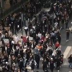 Lyon : Manifestation des poissonniers pour défendre le menu dans les cantines scolaires