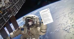 Thomas Pesquet verbalisé dans l'espace pour non présentation d'attestation de déplacement