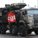 La CGT présente ses nouveaux camions blindés anti-agression