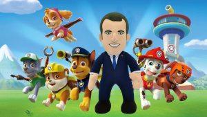 Emmanuel Macron fait une apparition dans PAT Patrouille