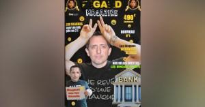 Nouveau et original, Gad Elmaleh lance un magazine entièrement consacré à Gad Elmaleh