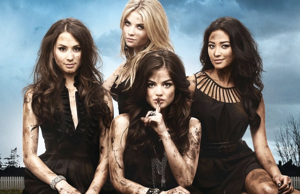 Pretty Little Liars I know who A is.
