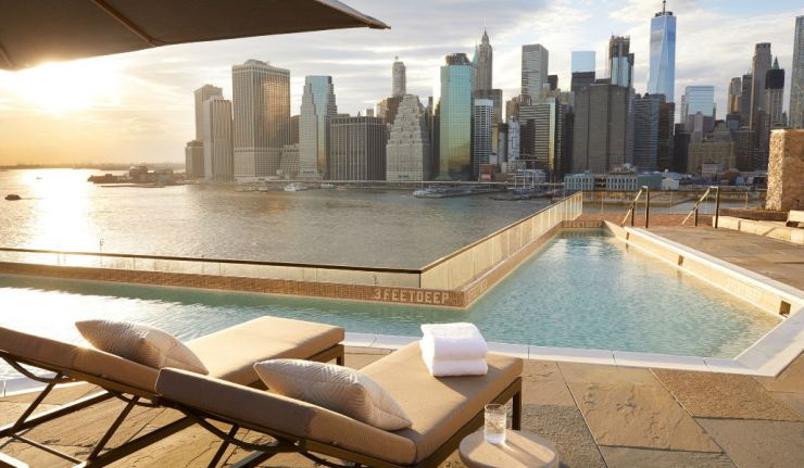 A Beautiful New Rooftop Pool In Brooklyn Opens To The Public On Saturday Secretnyc