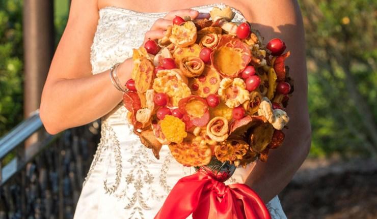 pizza bouquet