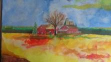 Wisconsin in Ink/Watercolour