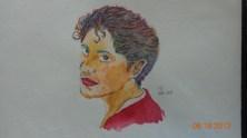 Sister in Watercolour