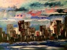 12x12 Acrylic Painting.