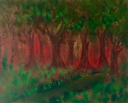Sherwood Forest (oils)