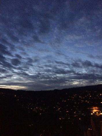 Sausalito as the Sun went down