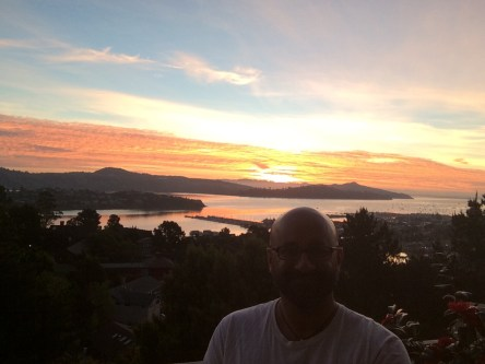 Sunrise in Sausalito