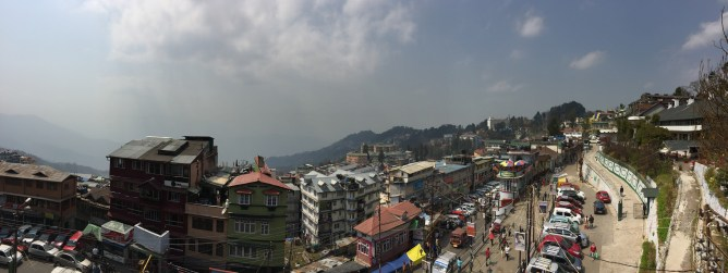 Darjeeling skyline