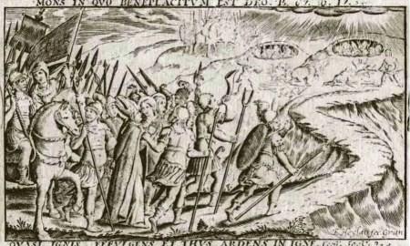 Francisco Heylan. Fragmento central de Martirio de San Cecilio