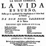 Vivimos entre dos obras de Calderón