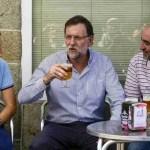 Rajoy, cerveza sin alcohol y gentes mal puestas