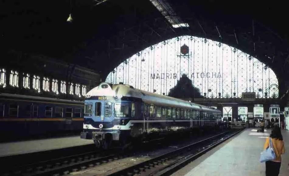 El tren de Madrid a Linares-Baeza
