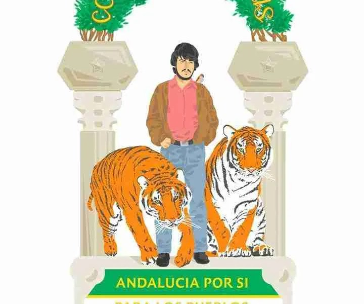 4D Coniuntis viribus García Caparrós Andalucía Carlos Cano tigres bengala