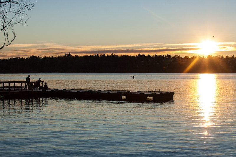 Green Lake Sunset