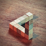 Penrose Triangle - A Very Creative Block