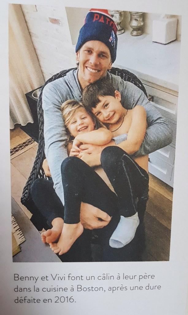 Gisèle : son mari et ses enfants