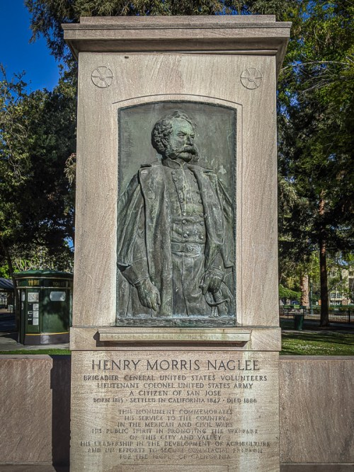 Naglee Monument, San Jose - St James Park
