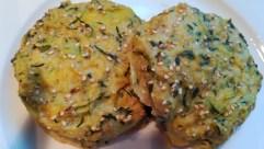 galette de courgettes