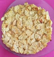 pommes en gâteau invisible après cuisson