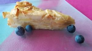 pommes en gâteau invisible