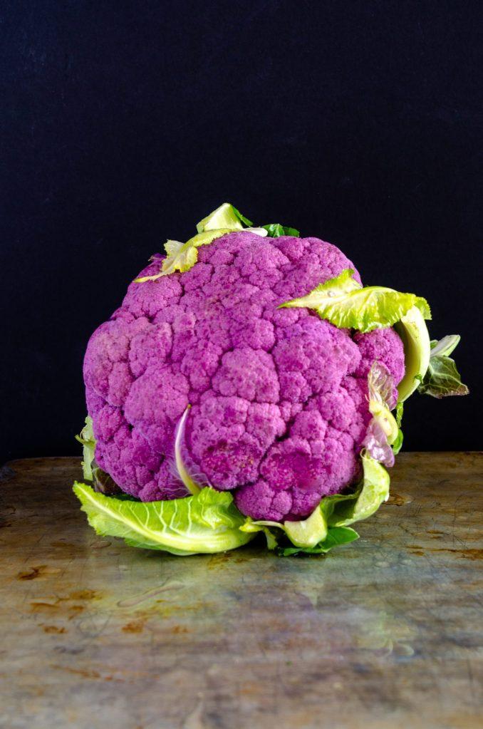 aimer le chou fleur violet