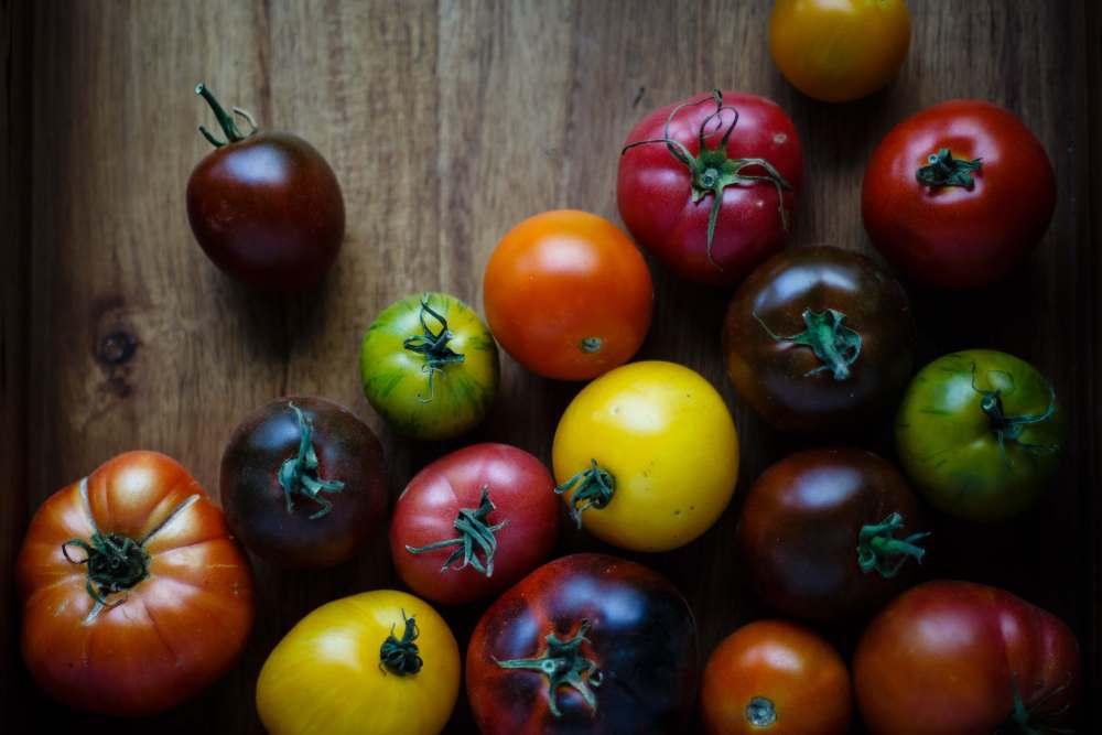 les tomates des légumes simples et variés !