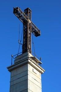 La dernière croix érigée en 1875.
